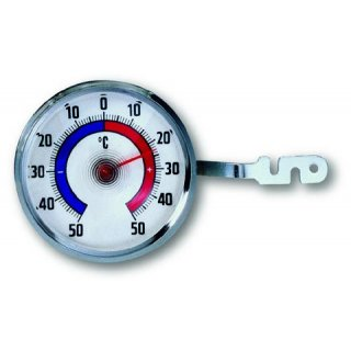 TFA, Fensterthermometer, Metall, 14.6005.54